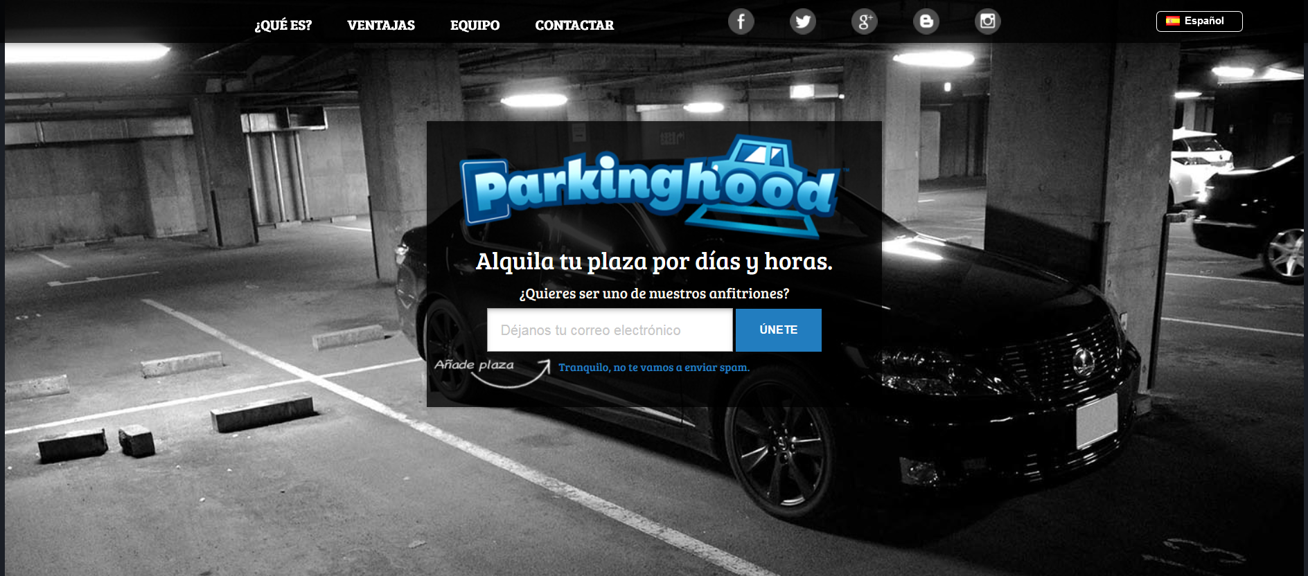 Parkinghood compartir parking